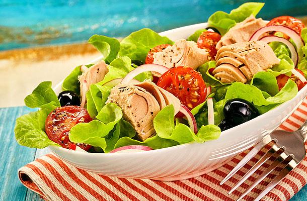 Nizza-Salat nach Chrono-Art